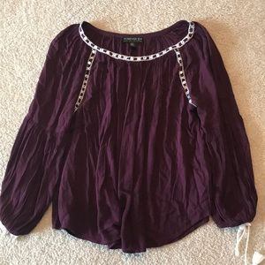 Forever 21 plus blouse.